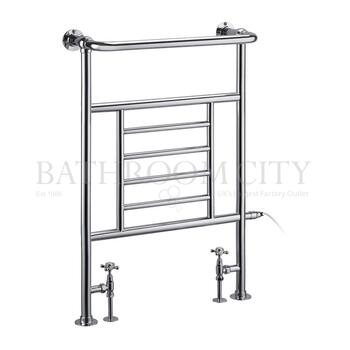 Vincent - Chrome Towel Rail Bathroom Radiator