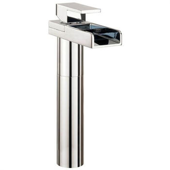 Water Sq Basin Tall Monobloc With No Pop-up Waste