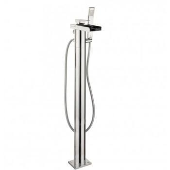 Water SQ Bath Shower Mixer Incuding Kit Floor Standing