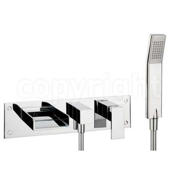 Water Sq Bath Swr Mixer With Kit Wall Mounted High Quality lever standard Shower Taps
