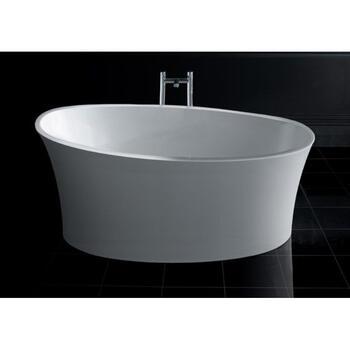 White Delicata Round Bath 1520