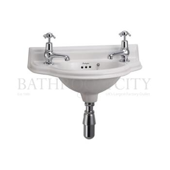 traditional Burlington Curved Cloakroom Basin
