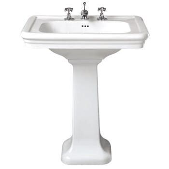 Etoile 700 Basin and Pedestal straight Ellegant