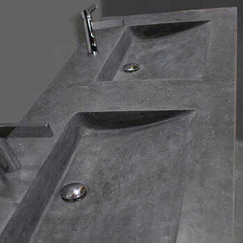 Forzalaqua Napoli Natural Stone Washbasin Bluestone Stylish Bathroom Basin