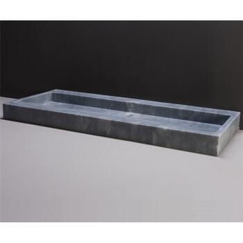 Forzalaqua Palermo 120 Natural Stone Basin Cloudy Marble High Quality Bathroom Washbasin