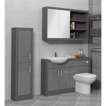 Hacienda Tall Boy with Colour Options Modern Bathroom
