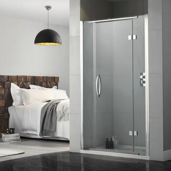 Inline Recess hinged shower door - 178389