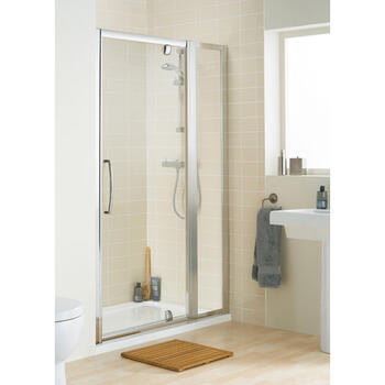 Lakes Framed In Line Panel Pack,350mm Panel, Profile And Bracing Arm Stylish Bathroom