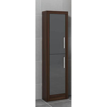 Lucido Tall Boy with Colour Options for Modern Bathroom