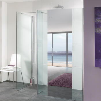 Palma Walk In Shower Front for Modern Bathroom