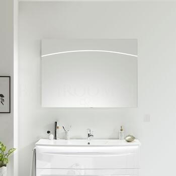 solitaire 9020 Bathroom mirror incl LED light profile in the mirror surface - 178310