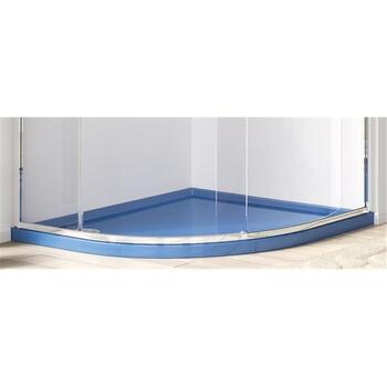 Universal 40 Curved Bathroom Shower Tray