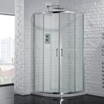Venturi 6 Double Door Shower Quadrant Enclosure 6mm Easy Clean - 178408