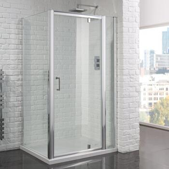 Venturi 6 Frameless Pivot Glass Shower Door 6mm Clean and Clear - 178410