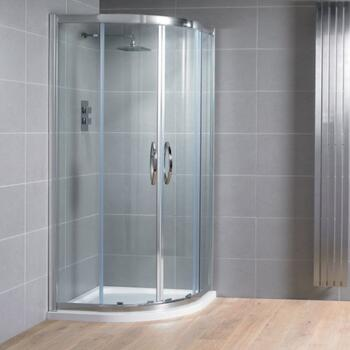 Venturi 8 offset Double Door Quadrant Shower Enclosure 8mm glass - 178399
