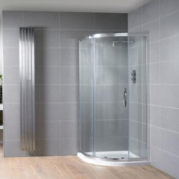 Venturi 8 Single Door Quadrant Shower Enclosure 8mm Easy clean glass - 178400