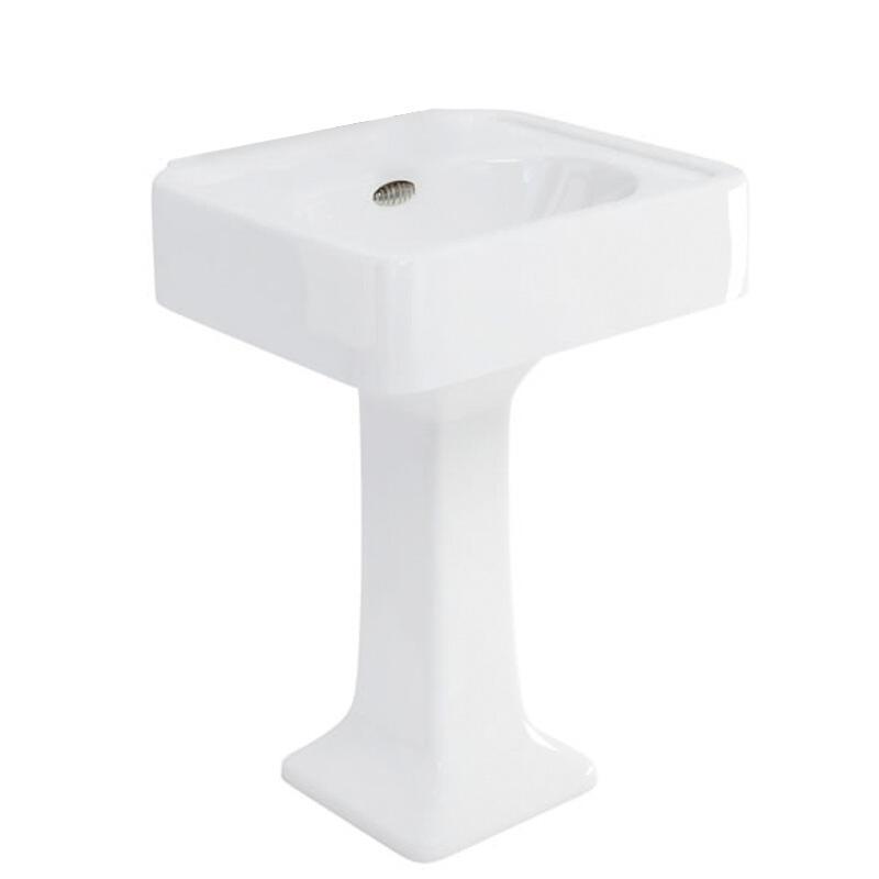 Arcade 600 basin and pedestal no tap hole