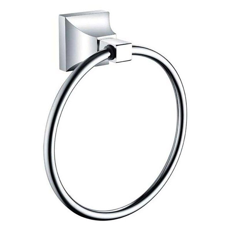 Chancery Towel Ring Chrome