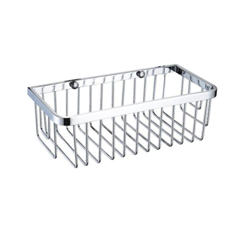 Heritage Rectangle Wire Basket Chrome
