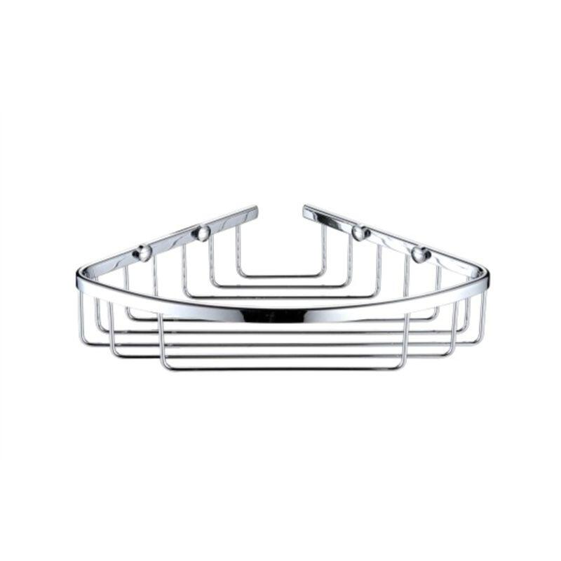 Heritage Corner Wire Basket Chrome