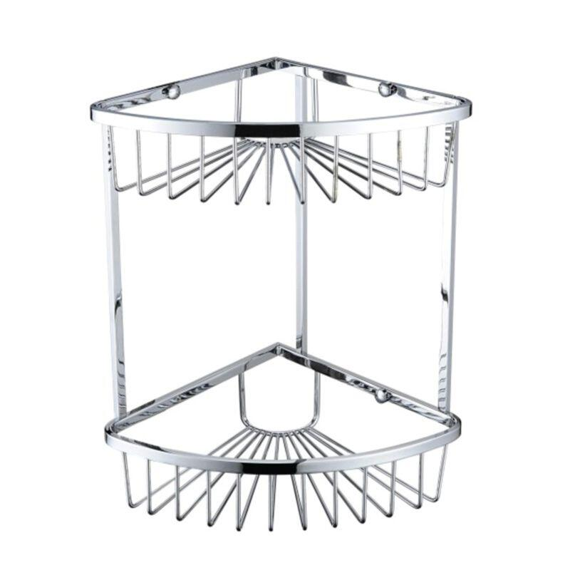 Heritage 2 Tier Wire Basket Chrome