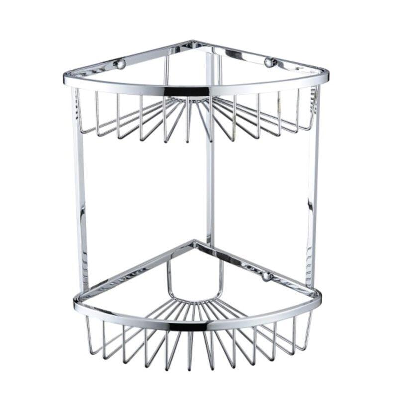 Heritage 2 Tier Wire Basket Chrome