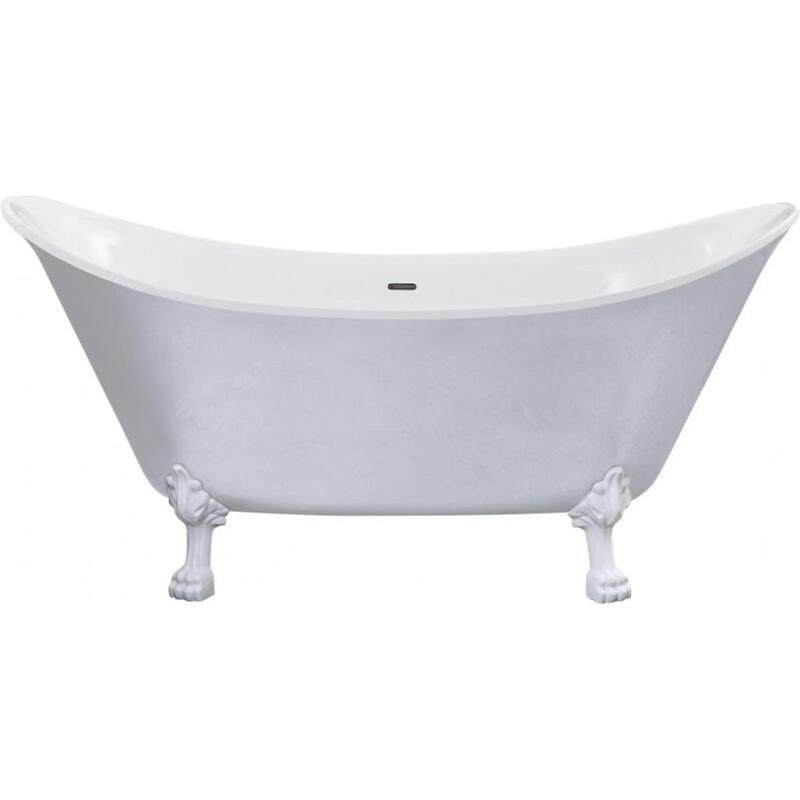 Lyddington Freestanding Acrylic Bath Stainless Steel