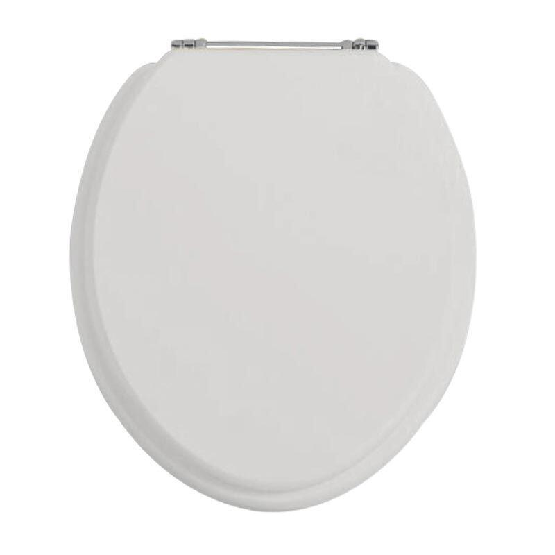 Standard Toilet Seat Dove Grey/Chrome