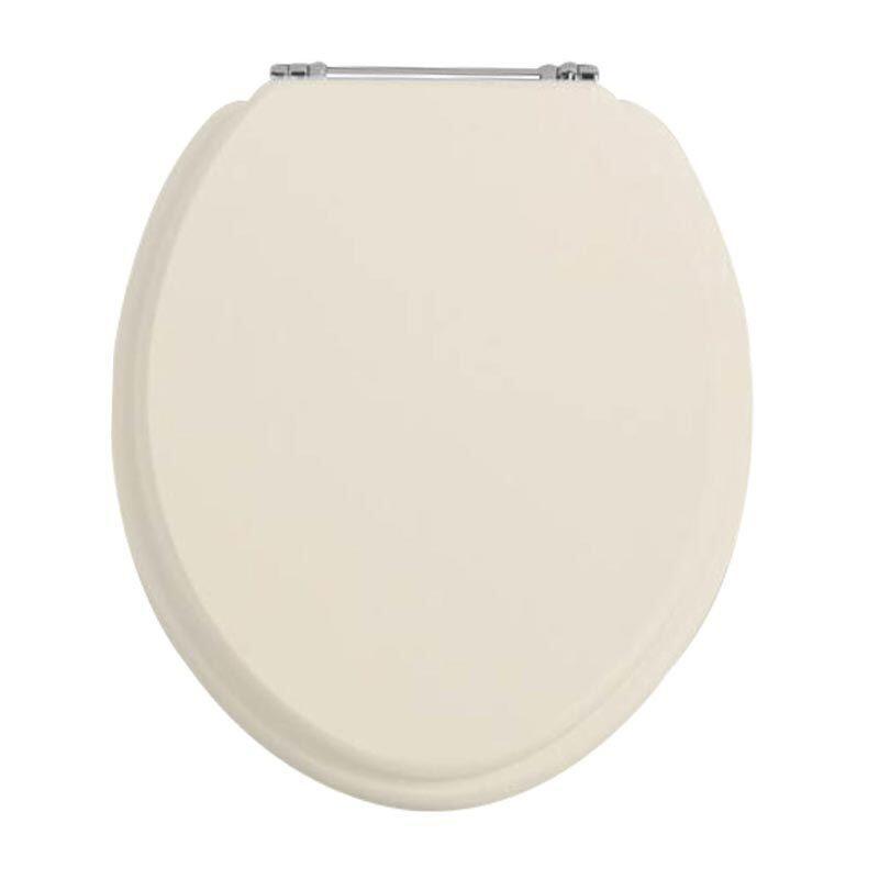 Standard Toilet Seat Oyster/Chrome