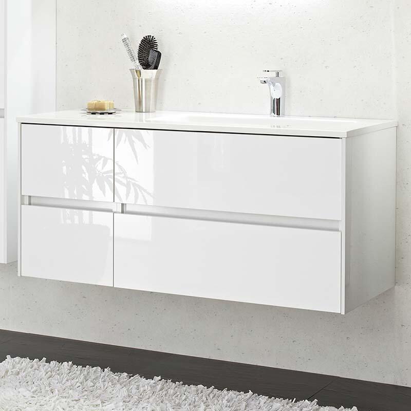Solitaire 6010 Vanity Unit 512x1120x493 PG1 LH