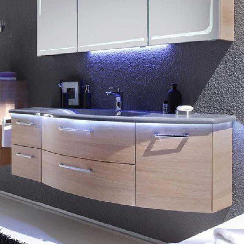 Solitaire 7005 Vanity Unit 480x1506x498 PG1 LH