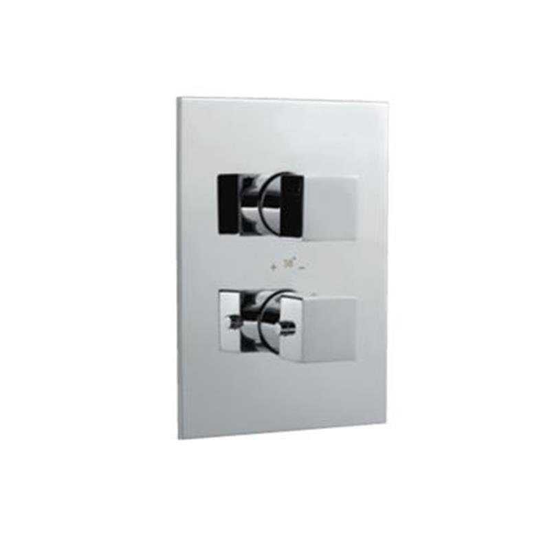 kubix Thermostatic Concealed Shower Valve 20mm with Built-in Non Return Valves, HP 1.0