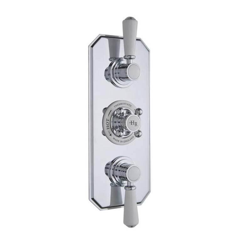 Topaz Triple Concealed Shower Valve with Diverter