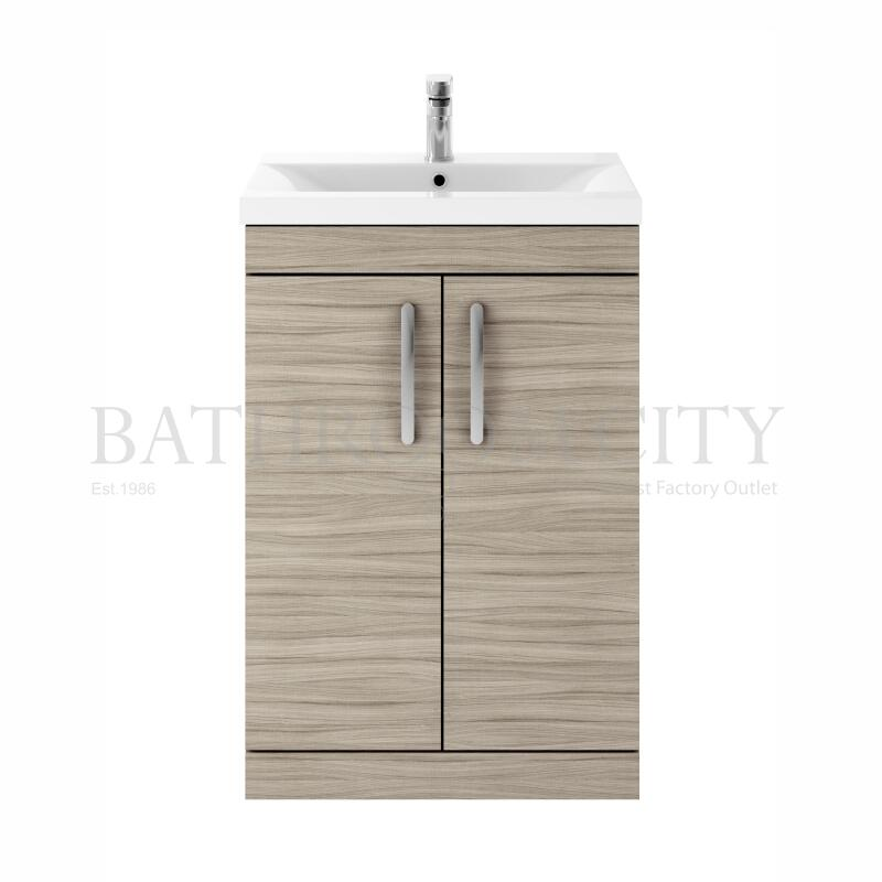 600 FS 2-Door Vanity With Basin A Drift wood