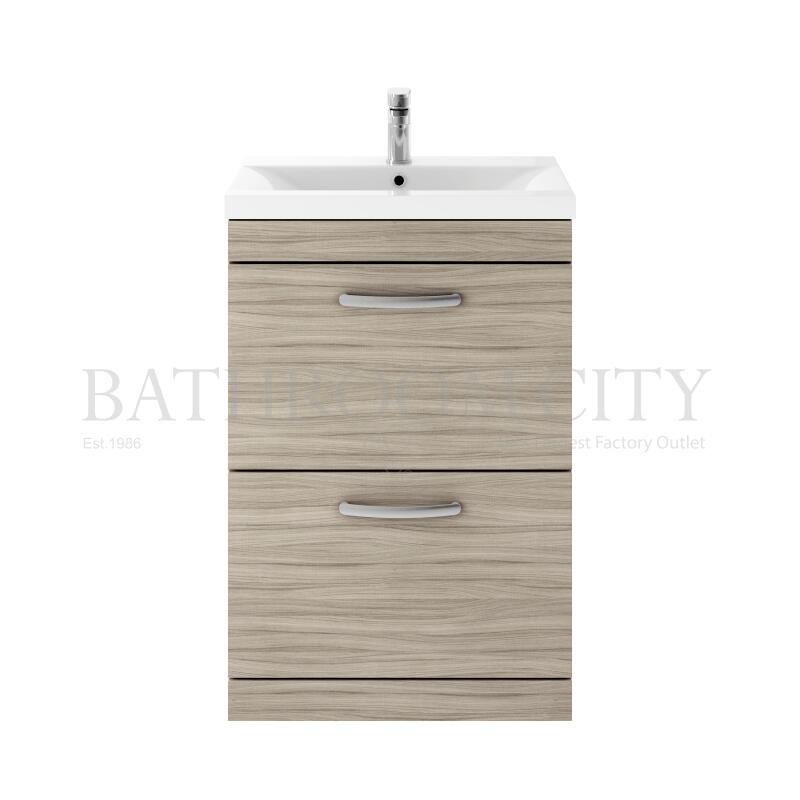 600 FS 2-Drawer Vanity With Basin A Drift wood