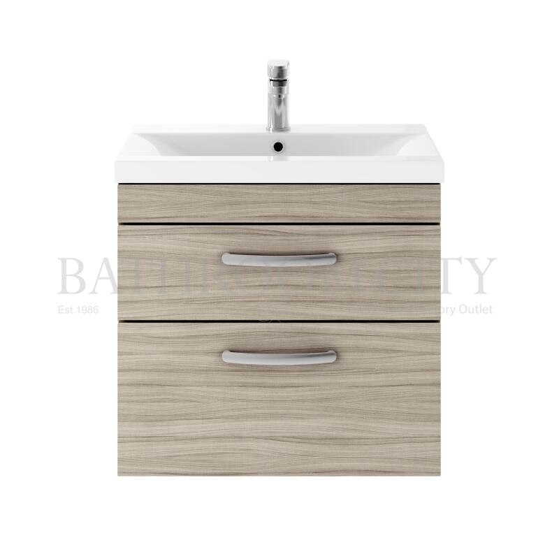 600 WH 2-Drawer Vanity With Basin A Drift wood