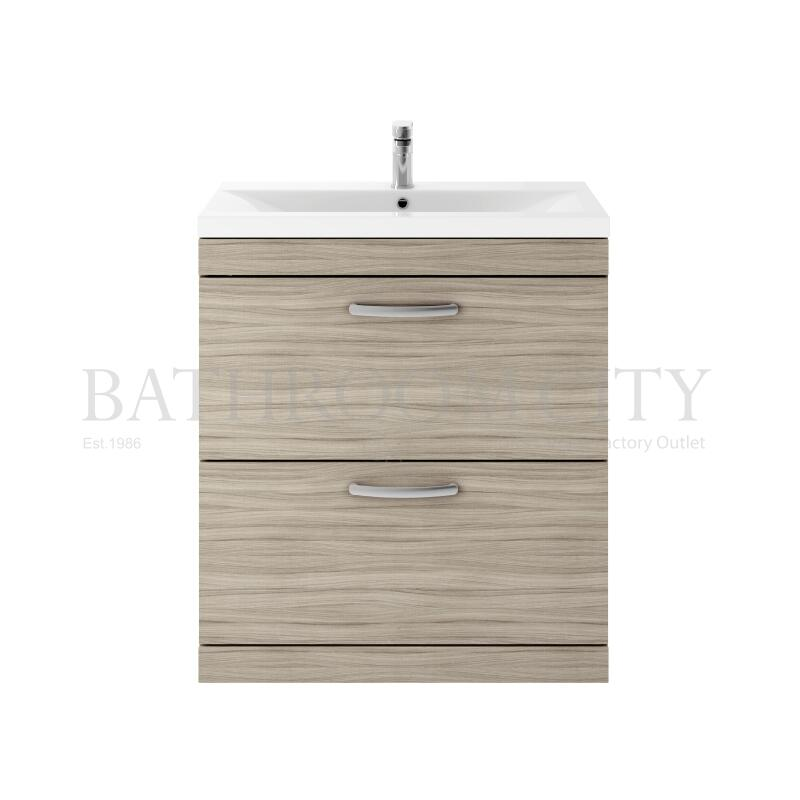800 FS 2-Drawer Vanity With Basin A Drift wood