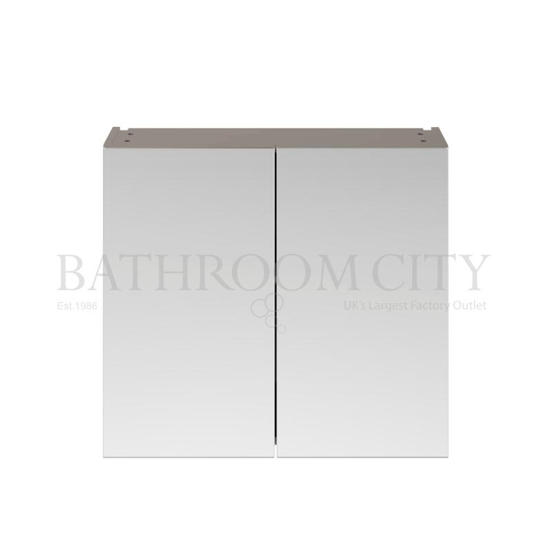 800 Mirror Unit 50/50 Stone grey
