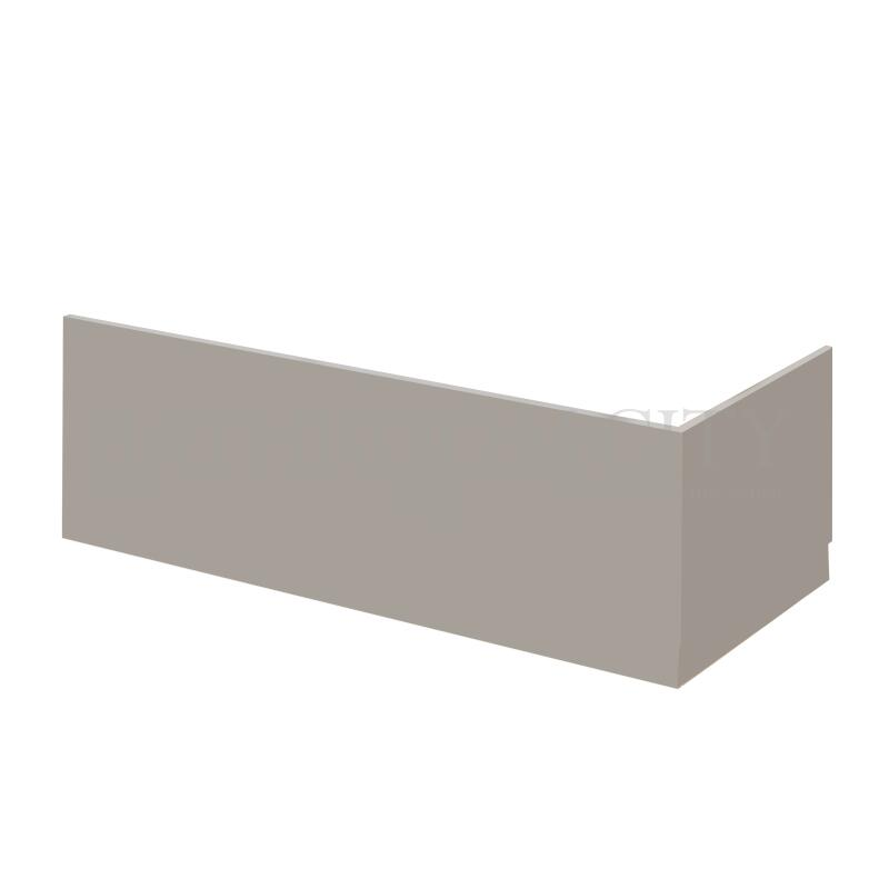 Stone grey  700mm Bath End Panel