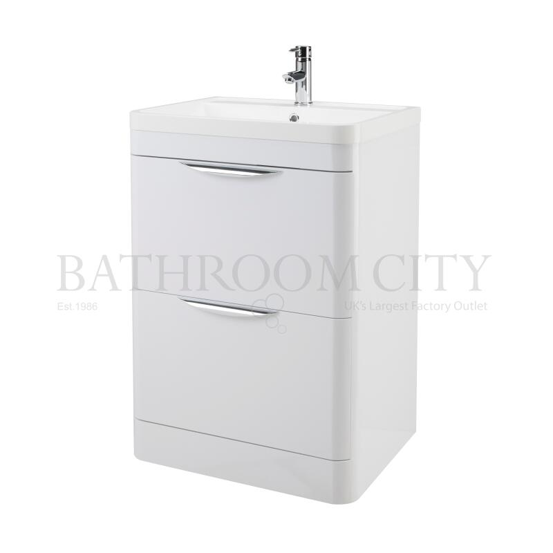Parade 600 F/S 2 Drawer Basin & Cabinet