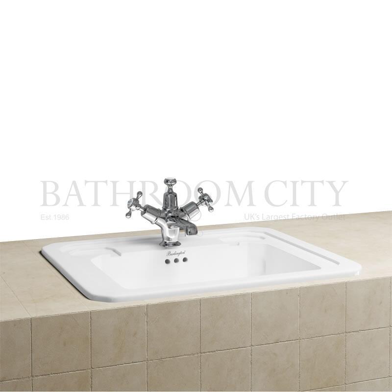 Countertop Vanity Basin 54cm 1TH