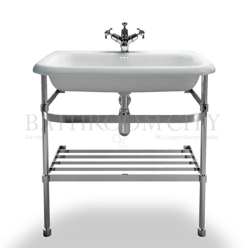 Traditional natural Stone 750 Basin and Washstand