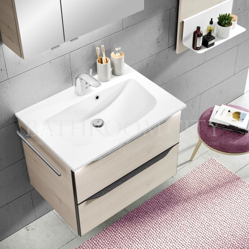 Solitaire 6025 vanity unit, 2 drawers 482x650x460 PG1