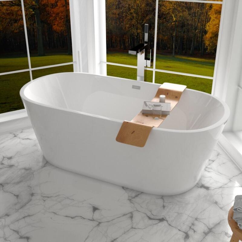 Verone 1680 x 800 Freestanding bath white