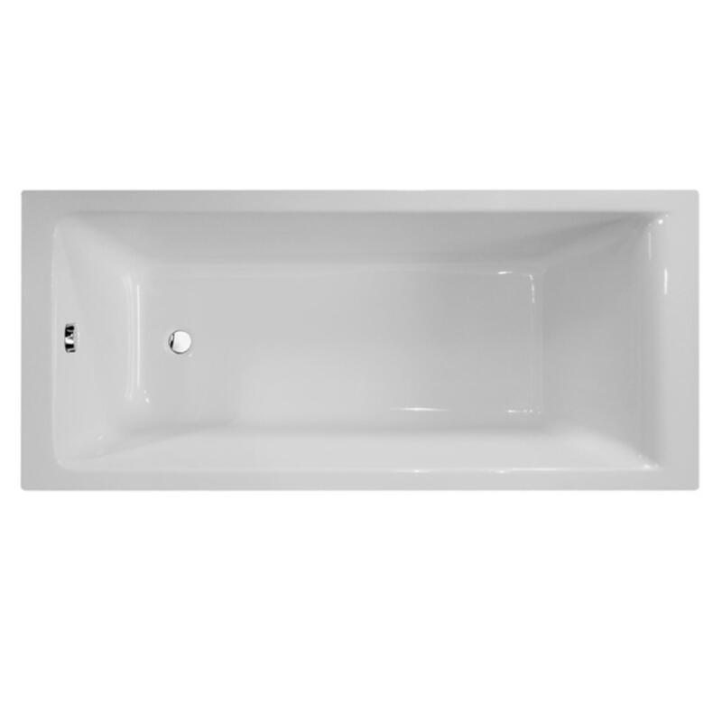 GALAXY 1700 X 700 SINGLE ENDED SQUARE BATH