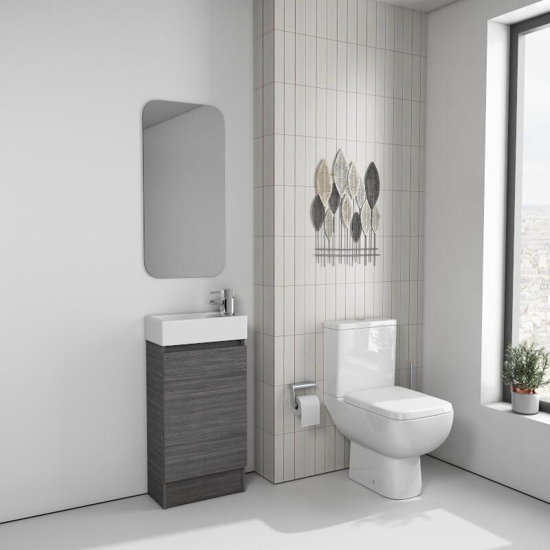Suite: Vanity Unit, Basin & Toilet