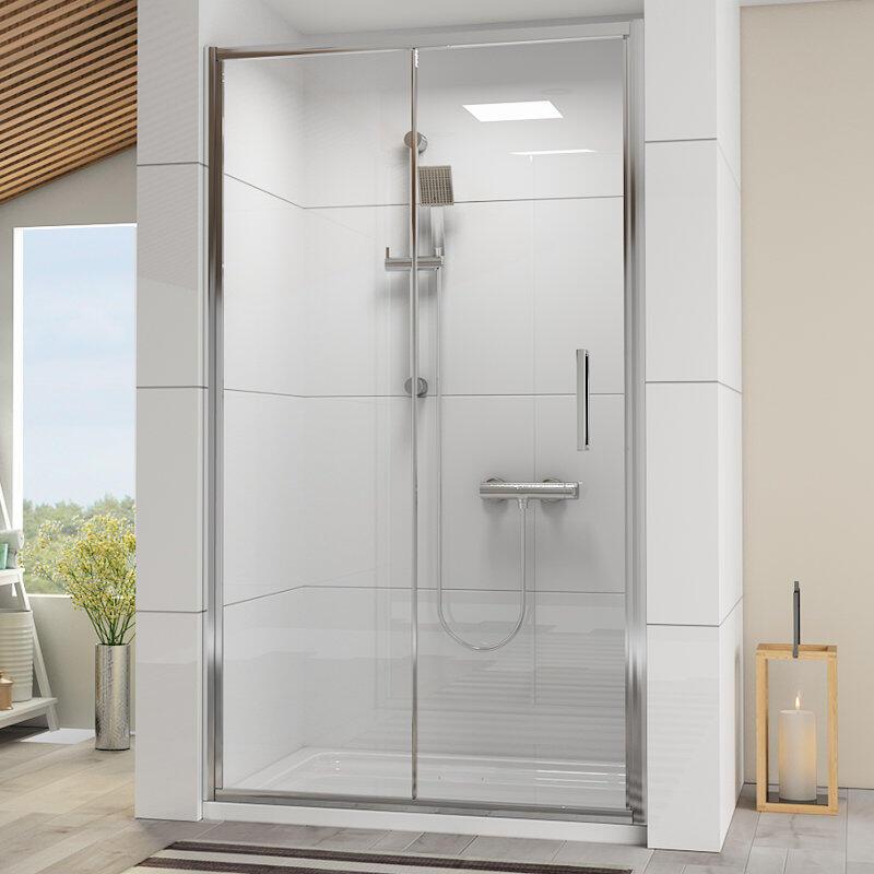 Radiant Reduced Height Shower Door: Sliding, 1750mm x 1000mm