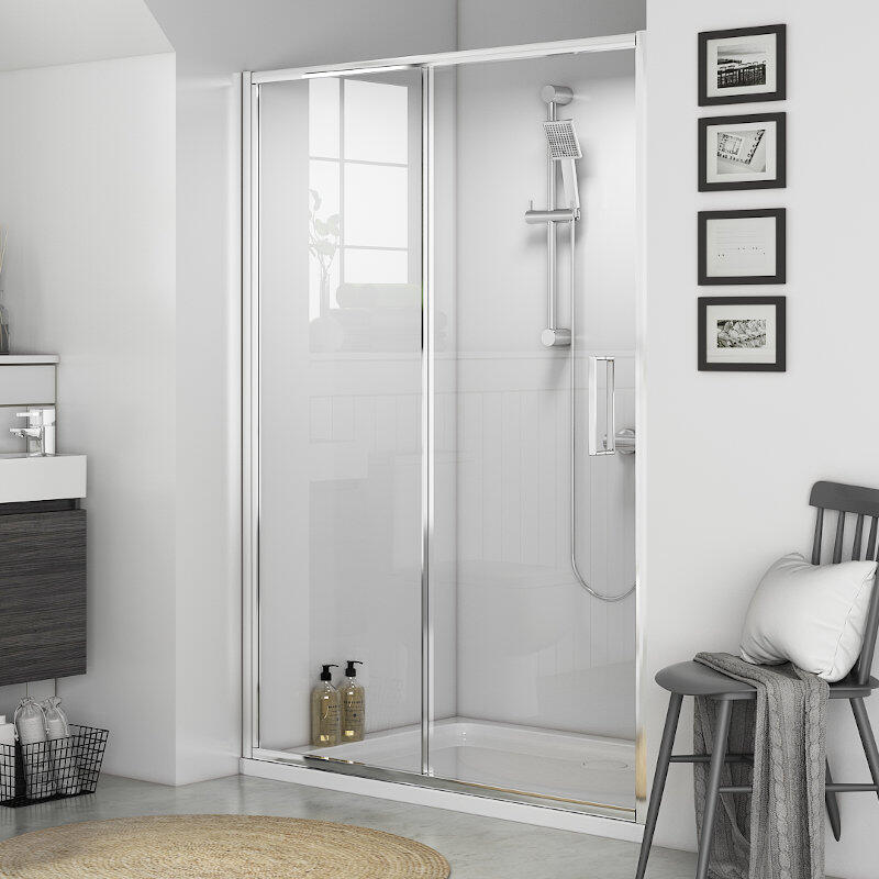 Radiant Shower Sliding Door: 1200mm