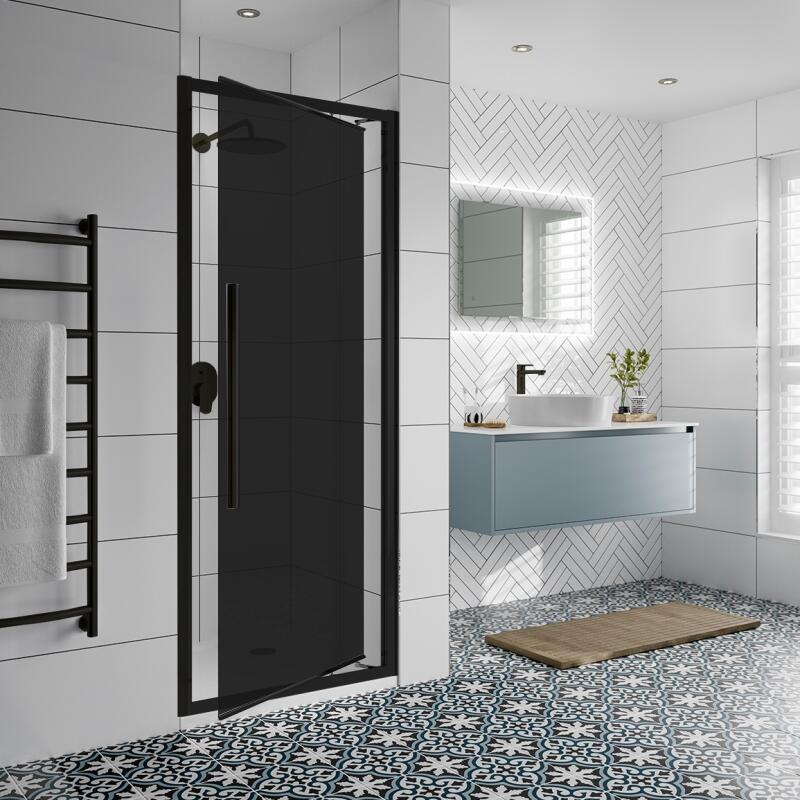 Inswing Shower Door: 700mm Width