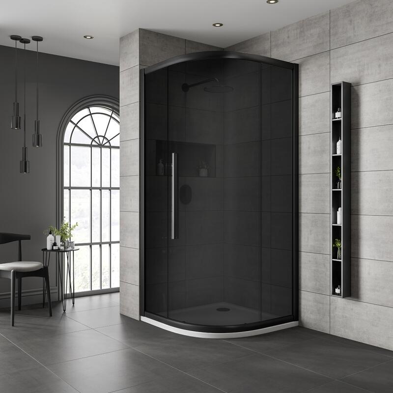 Quadrant Shower Enclosure: 800mm x 800mm